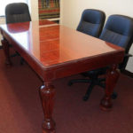 Hand-Carved Boardroom Table