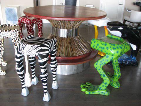 Whimsical Bar Stools Glenn Carter Sculpture